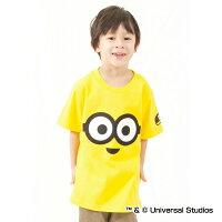 阪神タイガース公認グッズミニオン×タイガースビッグフェイスTシャツ(子供用)