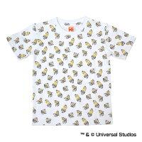 阪神タイガース公認グッズミニオン×タイガース総柄Tシャツ(子供用)