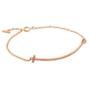 蒂芙尼(Tiffany&Co.)/ T微笑钻石手链#36667206