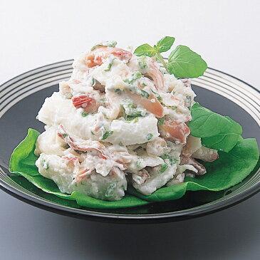【冷凍】カナダホッキ貝サラダ(イカ入り)(1kg) 安心の海産冷凍食品大手大栄フーズ製