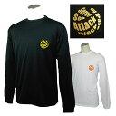 バレーボール 練習着 長袖 Tシャツ 「オールプレー」 左胸ワンポイントマーク