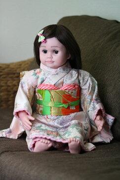 桃色花子 人形の着物一式 介護 音声認識人形 介護用人形 ももいろはなこ着物と帯のセット桃色花子は別売りです。着物のみの価格です。