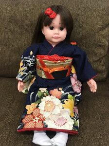桃色花子人形の着物一式介護音声認識人形介護用人形ももいろはなこ着物と帯のセット。足袋つき