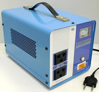 【変圧器】【海外用】 スワロー電機 海外用交流定電圧電源装置 ダウントランス 定格容量1000W 170V〜260V→100V変換 AVR-1000E