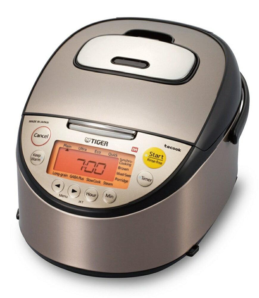 海外向け炊飯器 《剛火IH》 土鍋IH炊飯ジャー タイガー魔法瓶 JKT-S10A (TIGER Japanese clay pot&IH Rice cooker JKT-S10A 240V):海外電気CLUB