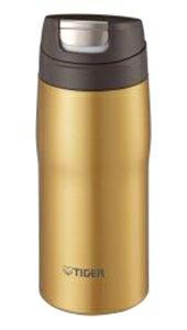 【ステンレスマグボトル】 タイガー魔法瓶 保温・保冷 軽量 ステンレスマグ ゴールド MJC-A036N