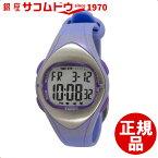 [クレファー]CREPHA 心拍計付きデジタル腕時計 消費カロリー表示 カウントダウンタイマー付き 10気圧防水 パープル TS-D012-PU レディース[3up][4983666124951-TS-D012-PU]