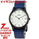 SEIKO WIRED セイコー ワイアード 腕時計 ウォッチ ドラえもんデザイン限定 限定1,200本 ホワイト文字盤 カーブハードレックス 紺カーフ革バンド AGAK710
