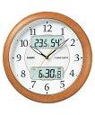 入荷未定 ◆50%OFF!◆カシオ CASIO 壁掛け電波時計 白木目調 ♪野鳥のさえずりで時刻をお...