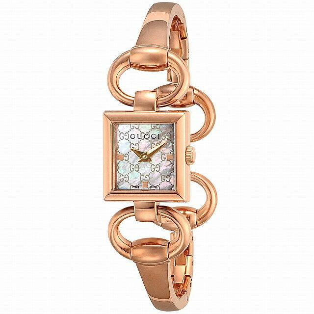 [3年保証][グッチ]GUCCI 腕時計 トルナヴォーニ ホワイトパール文字盤 ステンレス(PGPVD)ケース バングルタイプベルト YA120519 レディース [並行輸入品]