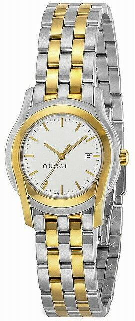 [当店だけのノベルティ付き] 【店頭受取対応商品】[グッチ]GUCCI 腕時計 Gクラス ホワイト文字盤 YA055520 レディース 【並行輸入品】