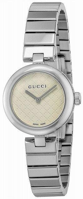[グッチ]GUCCI 腕時計 ディアマンティッシマ ホワイト文字盤 YA141502 レディース 並行輸入品