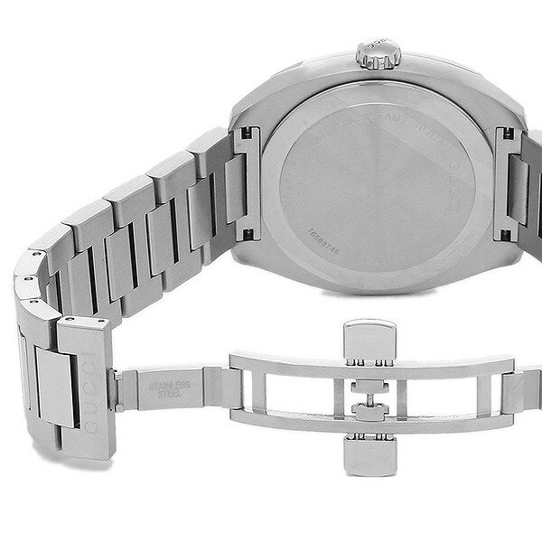[当店だけのノベルティ付き] 【店頭受取対応商品】[GUCCI] グッチ 腕時計 GG2570 L (GG2570 ラージ) ブラック YA142301