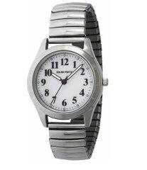 国内正規品[クレファー]CREPHA ソーラー腕時計 アナログ表示 5気圧防水 ホワイト SMC-1307-WT ...