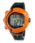 [テルバ]TELVA 腕時計 心拍計測機能付 デジタル メンズウォッチ TEV-2513-OR オレンジ メンズ