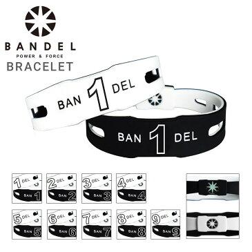 BANDEL バンデル ナンバー ブレスレット リバーシブル 【 bracelet 】【 パワーバランス シリコン ブレスレッド バンド 】【PO10】【bef】