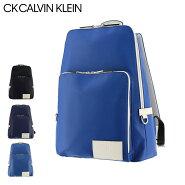 CK カルバンクライン リュック ジーニング メンズ875701 CK CALVIN KLEIN   スクエア A4 リュックサック 本革 レザー