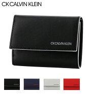イCK カルバンクライン 三つ折り財布 ミニ財布 ミニカラー メンズ876604 CK CALVIN KLEIN   ブランド専用BOX付き 本革 レザー