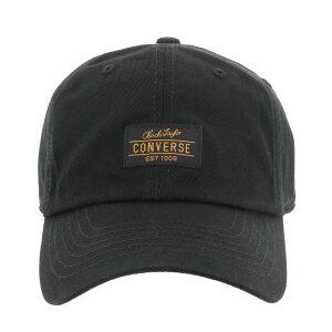 コンバース キャップ 帽子 メンズ レディース 187112701 CONVERSE ローキャップ フロントパッチ コットン[bef][即日発送]