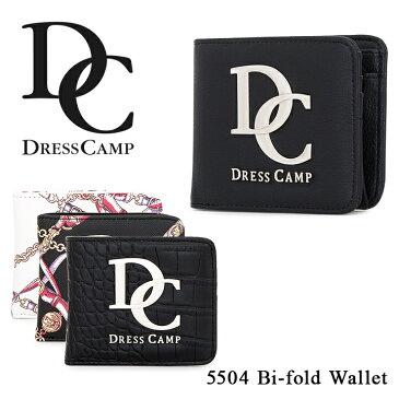 ドレスキャンプ DC DRESSCAMP 二つ折り財布 DC-5504 【 財布 ユニセックス 】