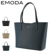 エモダ トートバッグ 横型 肩掛け A4 レディース EM-9308 EMODA   ファスナー付き ビジネス