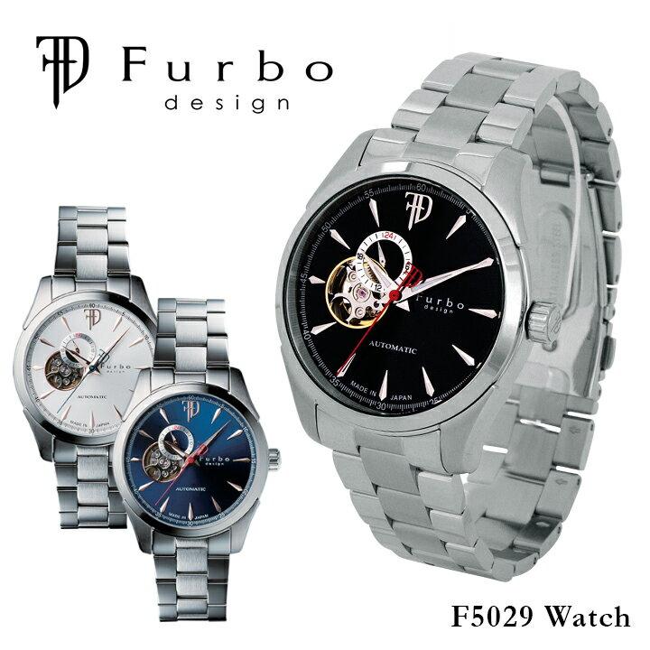 フルボデザイン Furbo design 腕時計 F5029 【 メンズ 自動巻き ステンレススチール 】:サックスバー