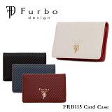 フルボデザイン Furbo design カードケース FRB115 ギア・カーボン 【 名刺入れ メンズ レザー カーボン調ラミレート 】