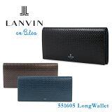 ランバン オン ブルー LANVIN en Bleu 長財布 551605 エスパス 【 ランバンオンブルー 】【 札入れ メンズ 】