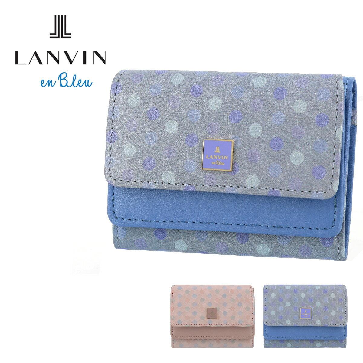 財布・ケース, レディース財布  482223 LANVIN en Bleu BOX befPO10