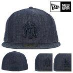 ニューエラ キャップ 59FIFTY MLB ニューヨークヤンキース ロサンゼルス・ドジャース デニム 帽子 NEW ERA | メンズ レディース[bef][即日発送]