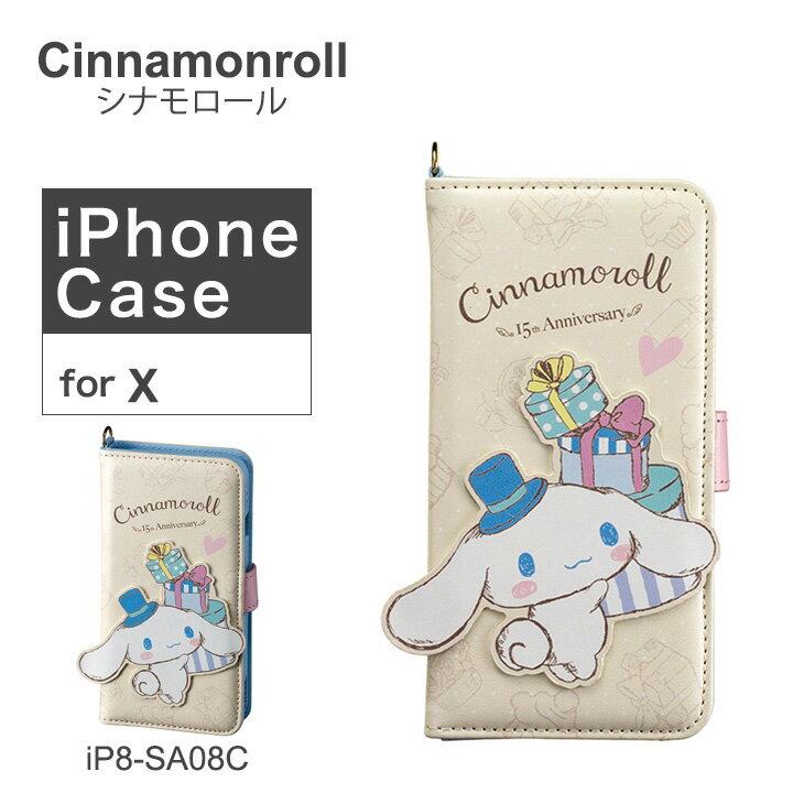 スマートフォン・携帯電話用アクセサリー, ケース・カバー  Cinnamoroll iPhoneX iP8-SA08C PO10bef