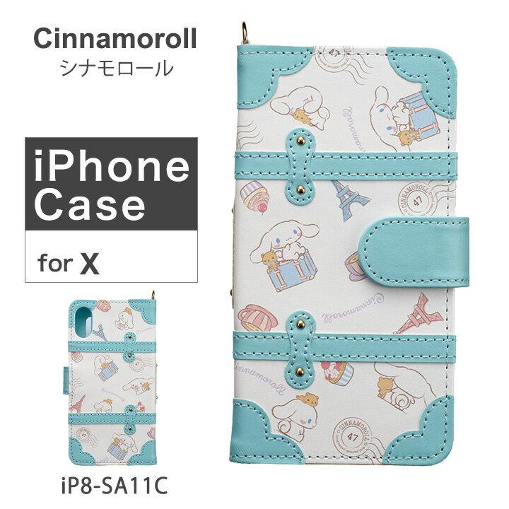 スマートフォン・携帯電話用アクセサリー, ケース・カバー  Cinnamoroll iPhone iP8-SA11C iPhoneX PO10bef