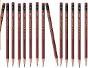 【三菱鉛筆】ユニスタンダード鉛筆/4Hから6B/単品・バラ売り