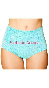 【即納】J.Valentine Iridescent Sequin Shorts 【J Valentine(ダンスウェア、衣装、コスチューム、小物)】【ボトム・スカート】【JV-DW-FF770-MINT】