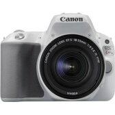 【2017年7月28日発売予定】キヤノン(Canon) EOS Kiss X9 ホワイト EF-S18-55 IS STM レンズキット