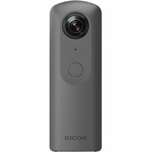 【2017年9月下旬発売予定】リコー(RICOH)全天球撮影カメラRICOHTHETAV(シータV)メタリックグレー
