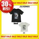 【30%OFF】メンズTシャツ新作/ロックTシャツ/フォトTシャツjilverman/ジルバーマン/Tシャツプリント/メンズTシャツおしゃれ/メンズラウンドネック/メンズUネック/メンズブランドTシャツ