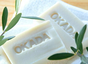 Olive 100% additive-free soaps ☆ Okada SOAP 100 g with