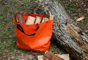 防水素材の、カラビナ付きレジャーバッグcamptoteキャンプトートLサイズ