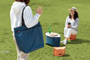クーラーバッグ保温・保冷どちらにも使える、トート型大容量バッグ