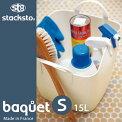 「スタックストーバケットS」全9色【スタックストー収納ボックスおもちゃ箱収納ボックスおしゃれバケツ四角】