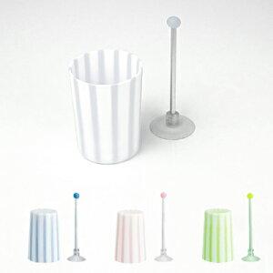 プラスチック スタンド ホワイト グリーン