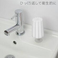 MARNA「マーナプティクルジールはみがきコップ」全5色【歯磨きコップ洗面プラスチックコップスタンドコップ立て】