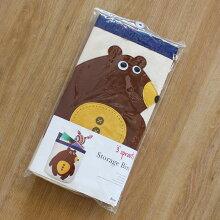 おもちゃ箱収納スリースプラウツストレージビン3sproutsベアーくまのイラストパッケージ写真