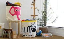 おもちゃ箱収納スリースプラウツストレージビン3sprouts使用シーン写真