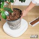 【LINEでクーポン】 「Tidy プランタブル」全3色【植木鉢トレー 観葉植物 ティディ tidy プランターベー...