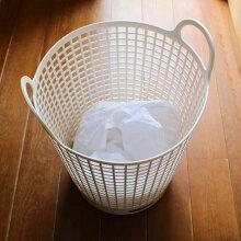 「フレディーレックランドリーバスケット」【洗濯カゴ脱衣カゴ洗濯物入れランドリーバスケット収納おしゃれおもちゃ箱洗濯かごソフトバケツ】