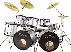 ドラムセット ドラム 電子ドラム ドラム 太鼓 ドラムバッグ セット 初心者から玄人まで練習出来る本格的なドラムセット ツインペダル・シンバル付! ドラム 2バス 初心者 セット ツーバスでジャズベ-スやエレキギターとセッションできる本格ドラム