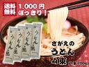 1000円ポッキリ 送料無料 グルメ食品 乾麺 うどん お試