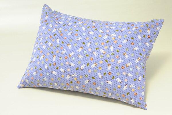 そば枕セットうさぎ紫